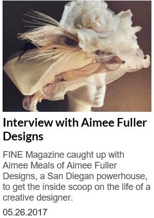 Fine Magazine Profile on Aimee Fuller